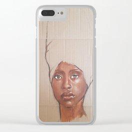 Erykah Baduh Clear iPhone Case