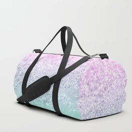 Mermaid Girls Glitter #1 (2019 Pastel Version) #shiny #decor #art #society6 Duffle Bag