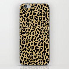 Neon Classic Leopard iPhone & iPod Skin