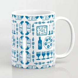 Symbols of Passover Folkart Coffee Mug