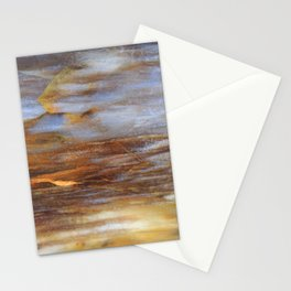 Petrified Wood Abstract Stationery Cards