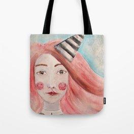 Pierrot Girl Tote Bag