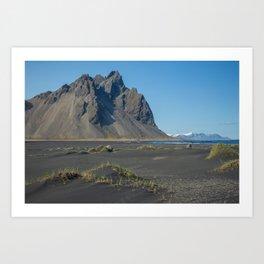 A Rock, An Island (Iceland) Art Print