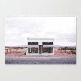 Pink Marfa Canvas Print