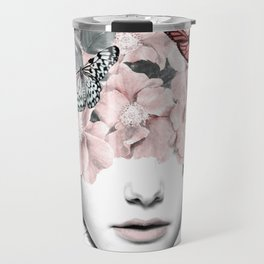 WOMAN WITH FLOWERS 10 Travel Mug