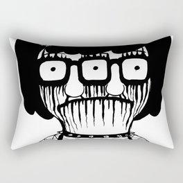 Black Metal Tina Rectangular Pillow