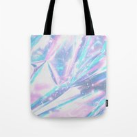hologram Tote Bags featuring Iridescence by Leah Moloney Photo