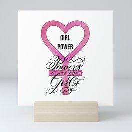 Girl Power Powers Girls Mini Art Print
