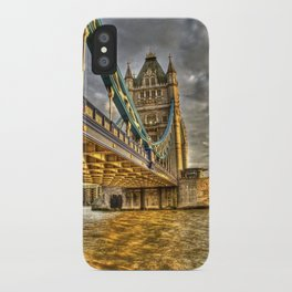 Sunset at Tower Bridge iPhone Case
