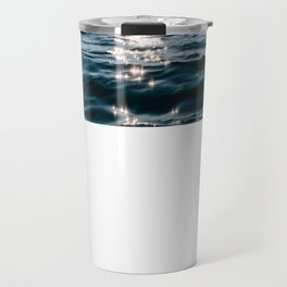 Sea Blue Sky sun Travel Mug