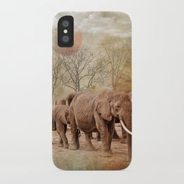 Long Walk iPhone Case