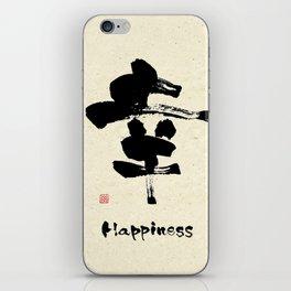 Happiness iPhone Skin