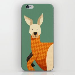 Hello Kangaroo iPhone Skin