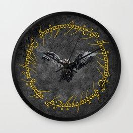 Eagle The Dark Lord Wall Clock