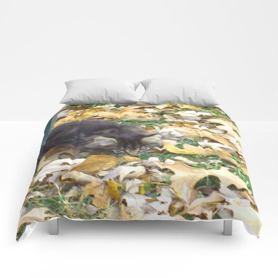 Autumn Kitten  Comforters