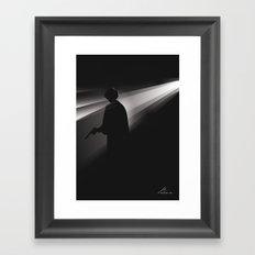 Our Galactic Princess Framed Art Print