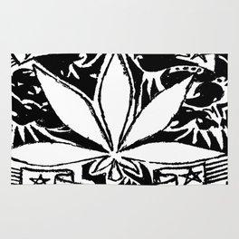 Weed & Diamonds Rug