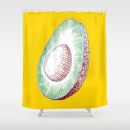 Avacado Shower Curtain