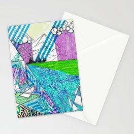 landscape of wonder Stationery Cards