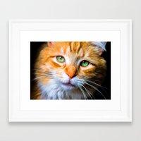 sam smith Framed Art Prints featuring Sam by thliii