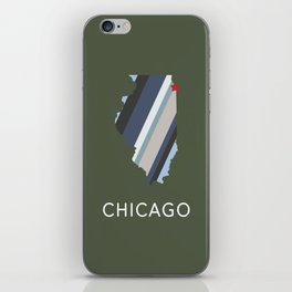 Chicago, Home Sweet Home iPhone Skin