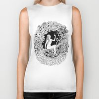 heaven Biker Tanks featuring Heaven by Tais Graphics