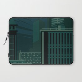 Architecture in Retro Style Laptop Sleeve