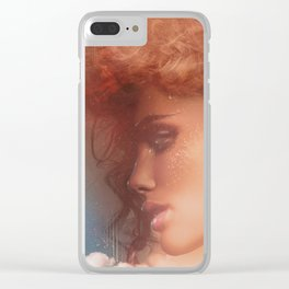 Dream of liberty Clear iPhone Case