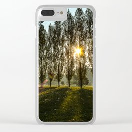 Penn State Sunrise Clear iPhone Case