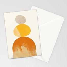 Abstraction_STONE_ROCK_BALANCE_POP_ART_Minimalism_066A Stationery Cards