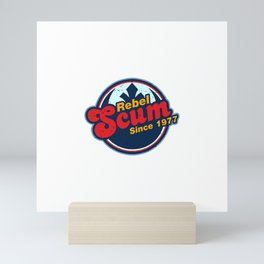 Vintage Scum Mini Art Print