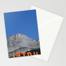 Chamonix hotel Stationery Cards