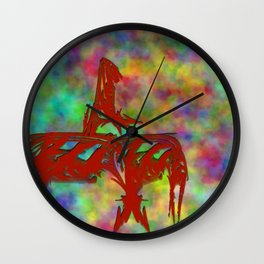 Mahout Wall Clock