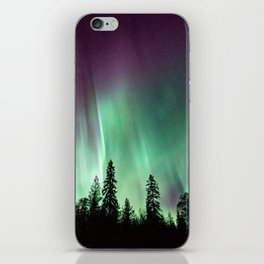 Colorful Northern Lights, Aurora Borealis iPhone Skin