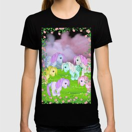 g1 my little pony collector ponies T-shirt