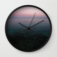blur Wall Clocks featuring Blur  by CloudedSunset