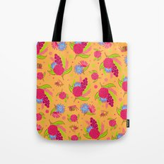 Picnic Pals bouquet in strawberry Tote Bag