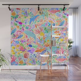 A Narwhal of a Time Wall Mural