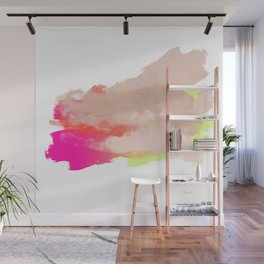 Particle of modernity Wall Mural