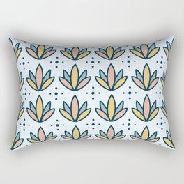 Cornflower v1 Rectangular Pillow
