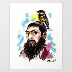 Matisyahu Art Print