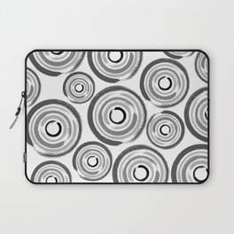 Enso Circles - Zen Circles pattern #1 Laptop Sleeve