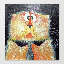 Funny Cat Canvas Print