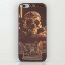 Catacomb Culture - Skulls and Tarot iPhone Skin