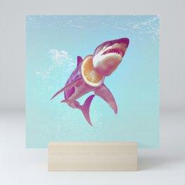 Lemon Shark Mini Art Print