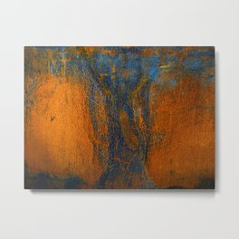 Rust Two Metal Print