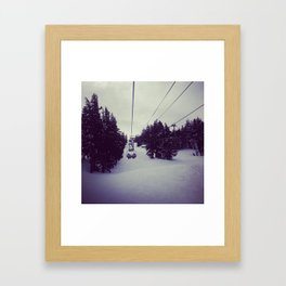 Mt. Bachelor  Framed Art Print