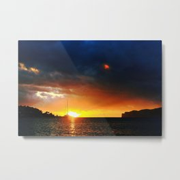 Santa Ponsa sunset Metal Print