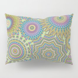 Kaleidoscopic-Jardin colorway Pillow Sham