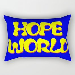 HOPEWORLD Rectangular Pillow